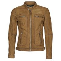Ruhák Férfi Bőrkabátok / műbőr kabátok Oakwood PLEASE Konyak