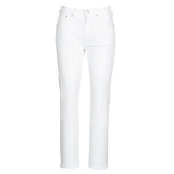 Ruhák Női Egyenes szárú farmerek Pepe jeans MARY Fehér