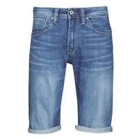 Ruhák Férfi Rövidnadrágok Pepe jeans CASH Kék / Átlagos