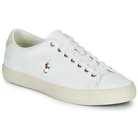 Cipők Férfi Rövid szárú edzőcipők Polo Ralph Lauren LONGWOOD-SNEAKERS-VULC Fehér