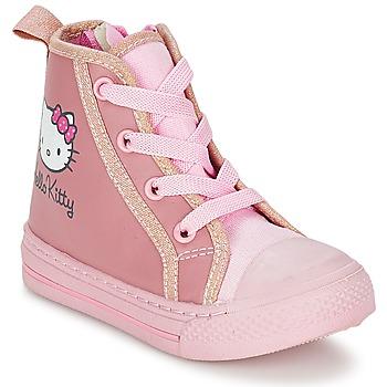 Cipők Lány Magas szárú edzőcipők Hello Kitty TANSIOUR Rózsaszín