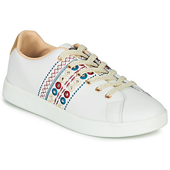 Cipők Női Rövid szárú edzőcipők Desigual COSMIC NEW EXOTIC Fehér