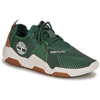 Cipők Férfi Rövid szárú edzőcipők Timberland EARTH RALLY FLEXIKNIT OX Zöld