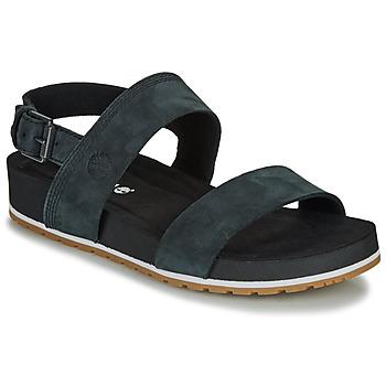 Cipők Női Szandálok / Saruk Timberland Malibu Waves 2Band Sandal Fekete