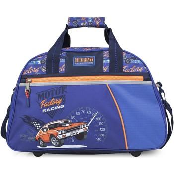 Táskák Fiú Utazó táskák Skpat Versenyzés Kék