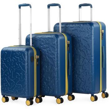 Táskák Keményfedeles bőröndök Lois Zion Kék