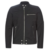 Ruhák Férfi Bőrkabátok / műbőr kabátok Diesel J-GLORY Fekete