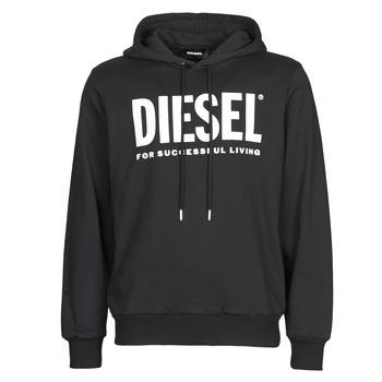 Ruhák Férfi Pulóverek Diesel GIR-HOOD-DIVISION Fekete