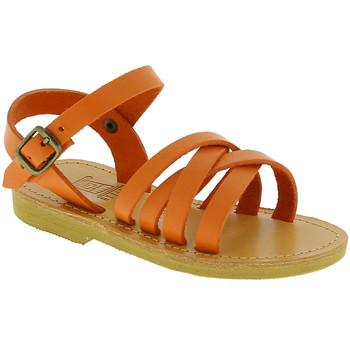 Cipők Lány Szandálok / Saruk Attica Sandals HEBE CALF ORANGE arancio