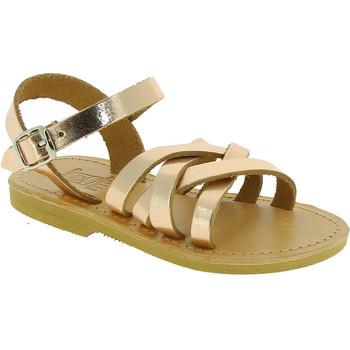 Cipők Lány Szandálok / Saruk Attica Sandals HEBE CALF GOLD PINK Oro rosa