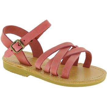 Cipők Lány Szandálok / Saruk Attica Sandals HEBE NUBUK PINK Rosa chiaro