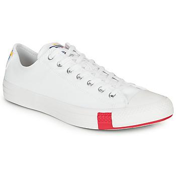 Cipők Rövid szárú edzőcipők Converse CHUCK TAYLOR ALL STAR LOGO STACKED - OX Fehér