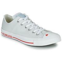 Cipők Női Rövid szárú edzőcipők Converse CHUCK TAYLOR ALL STAR LOVE CANVAS - OX Fehér / Piros