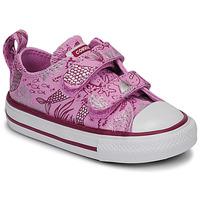 Cipők Lány Rövid szárú edzőcipők Converse CHUCK TAYLOR ALL STAR 2V UNDERWATER PARTY Rózsaszín