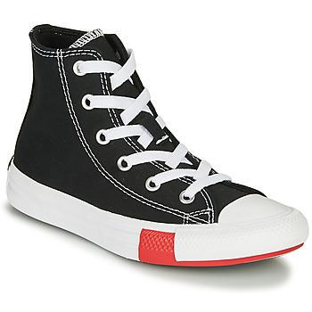 Cipők Fiú Magas szárú edzőcipők Converse CHUCK TAYLOR ALL STAR - HI Fekete / Citromsárga / Fehér