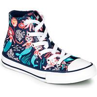 Cipők Lány Magas szárú edzőcipők Converse Chuck Taylor All Star Underwater Party Kék