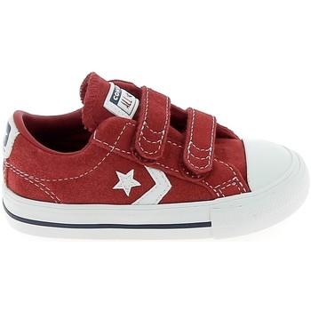 Cipők Rövid szárú edzőcipők Converse Star Player 2V BB Rouge Piros