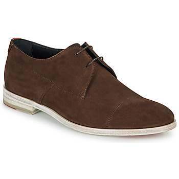 Cipők Férfi Oxford cipők HUGO MIDTOWN DERB SD Barna