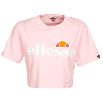 Ruhák Női Rövid ujjú pólók Ellesse ALBERTA Rózsaszín