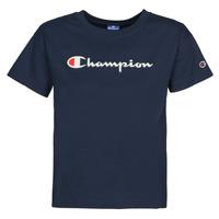 Ruhák Női Rövid ujjú pólók Champion KOOLATE Tengerész