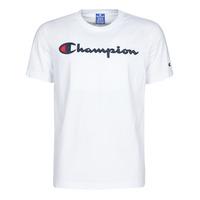 Ruhák Férfi Rövid ujjú pólók Champion 214194 Fehér