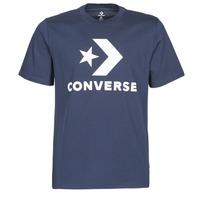 Ruhák Férfi Rövid ujjú pólók Converse STAR CHEVRON TEE Kék