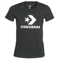 Ruhák Női Rövid ujjú pólók Converse Star Chevron Tee Converse / Fekete