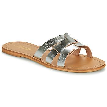 Cipők Női Papucsok So Size MELINDA Ezüst