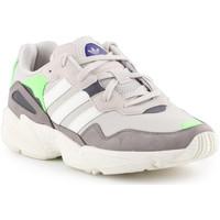 Cipők Férfi Rövid szárú edzőcipők adidas Originals Adidas Yung-96 F97182 beżowy