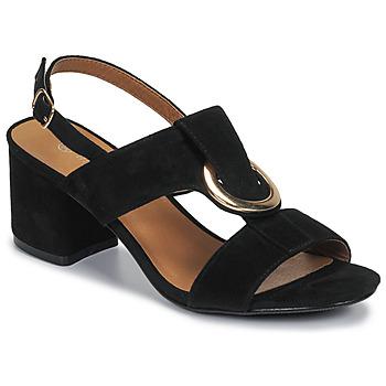 Cipők Női Szandálok / Saruk Moony Mood MANY Fekete