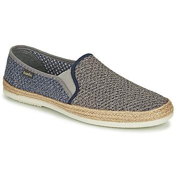 Cipők Férfi Gyékény talpú cipők Bamba By Victoria ANDRE ELASTICO BICOLOR Szürke