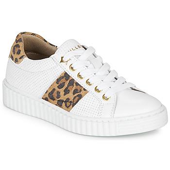 Cipők Lány Rövid szárú edzőcipők Bullboxer LORIS Fehér / Leopárd