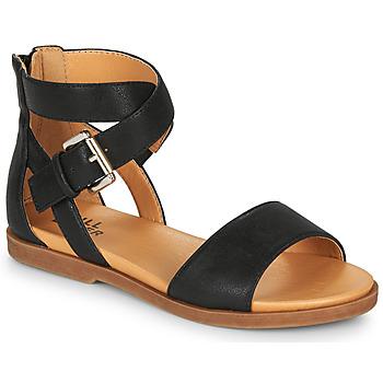 Cipők Lány Szandálok / Saruk Bullboxer MELISSA Fekete