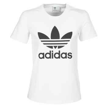Ruhák Női Rövid ujjú pólók adidas Originals TREFOIL TEE Fehér