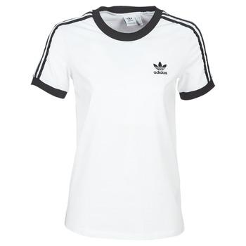 Ruhák Női Rövid ujjú pólók adidas Originals 3 STR TEE Fehér