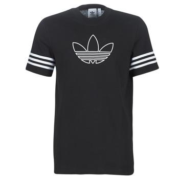 Ruhák Férfi Rövid ujjú pólók adidas Originals OUTLINE TEE Fekete
