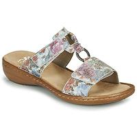 Cipők Női Papucsok Rieker MOLA Sokszínű