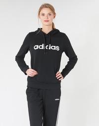 Ruhák Női Pulóverek adidas Performance E LIN OH HD Fekete