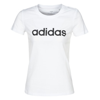 Ruhák Női Rövid ujjú pólók adidas Performance E LIN SLIM T Fehér