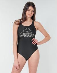 Ruhák Női 1 részes fürdőruhák adidas Performance FIT SUIT BOS Fekete