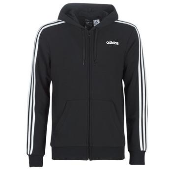 Ruhák Férfi Pulóverek adidas Performance E 3S FZ FT Fekete