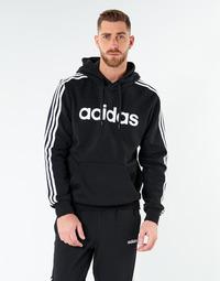 Ruhák Férfi Pulóverek adidas Performance E 3S PO FL Fekete