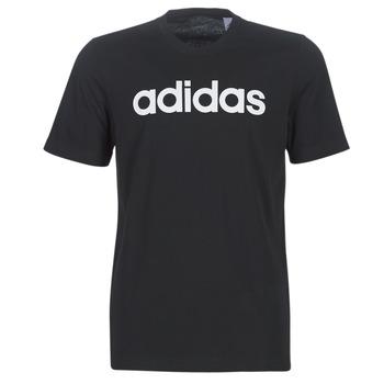 Ruhák Férfi Rövid ujjú pólók adidas Performance E LIN TEE Fekete