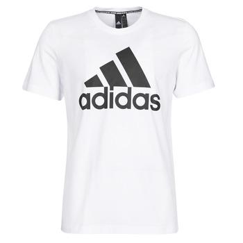 Ruhák Férfi Rövid ujjú pólók adidas Performance MH BOS Tee Fehér