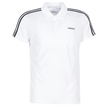 Ruhák Férfi Rövid ujjú galléros pólók adidas Performance M D2M CLA 3S PO Fehér