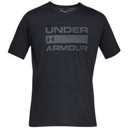 Ruhák Férfi Rövid ujjú pólók Under Armour Team Issue Wordmark Fekete