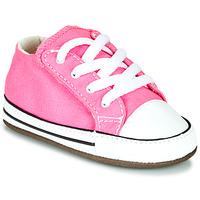 Cipők Lány Magas szárú edzőcipők Converse Chuck Taylor First Star Canvas Hi Rózsaszín