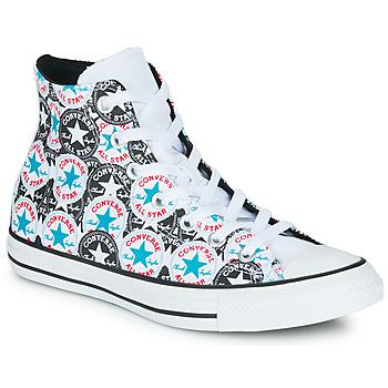Cipők Női Magas szárú edzőcipők Converse CHUCK TAYLOR ALL STAR LOGO PLAY Fehér / Fekete  / Multi