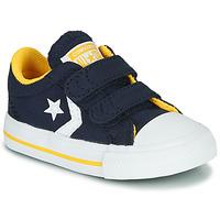 Cipők Fiú Rövid szárú edzőcipők Converse STAR PLAYER 2V VARSITY CANVAS Kék