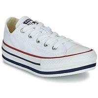 Cipők Lány Magas szárú edzőcipők Converse CHUCK TAYLOR ALL STAR PLATFORM EVA EVERYDAY EASE Fehér